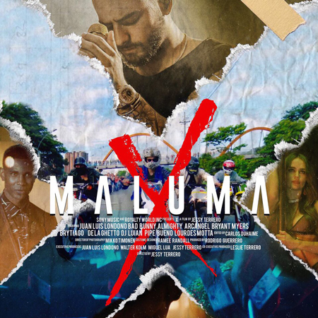 El cortometraje de Maluma