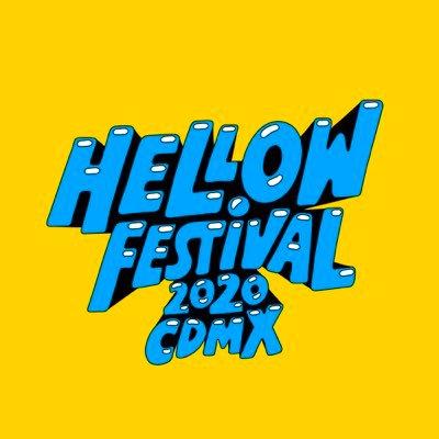 ¡Este es el cartel oficial del Hellow Festival 2020 CDMX!